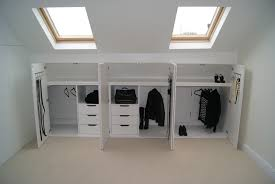 Loft Storage Wardrobe Solutions For Loft Conversion Google Search Gezellig
