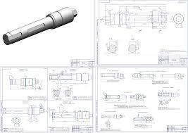 Курсовая работа по технологии машиностроения курсовое  Курсовой проект Разработка технологического процесса изготовления валика