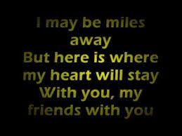 Farewell To You My Friend Lyrics YouTube Adorable Goodbye Friendship