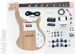 diy electric bass guitar kit mod bass guitar kit