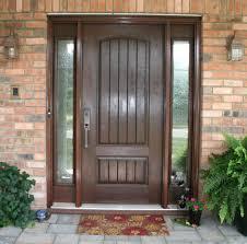 Front Doors front doors with sidelights pics : Fiberglass Front Entry Door With Sidelights - peytonmeyer.net