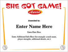 volleyball certificate template volleyball certificates free award templates