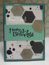 Birthday Card Sample Delectable 48 Best Six Sided Sampler Images On Pinterest Hexagons Hexagon