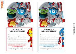 Anniversaire Avengers Tous Les Heros Le Blog