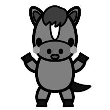 かわいいお茶目な黒猫間違い探しの無料イラスト商用フリー オイデ43