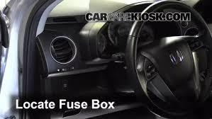 interior fuse box location 2009 2015 honda pilot 2011 honda locate interior fuse box and remove cover