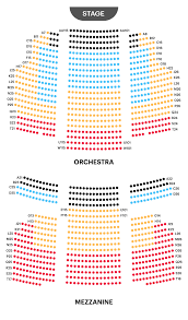 St James Theatre Frozen Seating Chart Your A To Z Guide To Broadway Theater Seating Charts