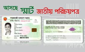 Smart National Card Election Identity Nid Bd Bangladesh