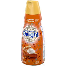This coffee creamer is here for a limited time. International Delight Pumpkin Pie Spice Coffee Creamer Hy Vee Aisles Online Grocery Shopping