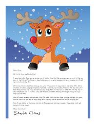 Christmas Note Template Easy Free Letters From Santa Customize Your Text And Design And