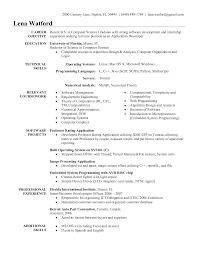 Sample Software Engineer Resume Excellent Job Title For Software