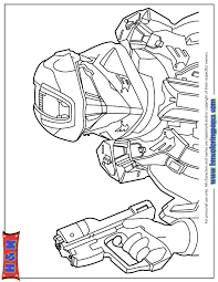 Small Picture Halo 4 Spartan Ops Coloring Page H M Coloring Pages