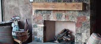 rough sawn beam fireplace mantle 10x10