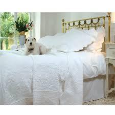Cream Quilted Bedspread - Powell Craft & Cream Quilted Bedspread Adamdwight.com