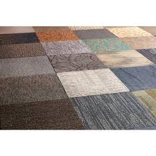 versatile assorted commercial pattern 24 in x 24 in carpet tile 10 tiles
