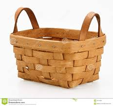 woven wood basket. Unique Wood Small Woven Wooden Basket And Woven Wood Basket Dreamstimecom