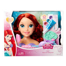 Disney Princess Ariel Bath Time Styling - Toys