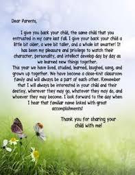 Thank You Letter To Parents | School Ideas | Pinterest | Parents ...