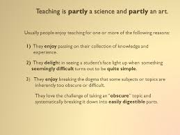 the science of teaching ppt 2 teaching