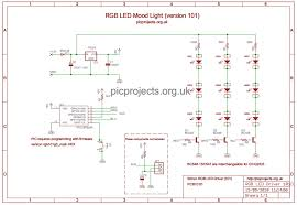 rgb led mood light driver schematic as pdf