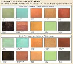Concrete Acid Stain Colors Itsara Co