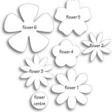 3d Flower Template Printable World Of Printables With 3d