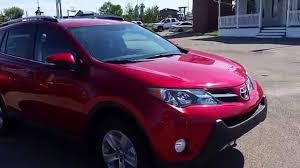 2015 Toyota Rav4 XLE AWD in Barcelona Red 03R3 - YouTube