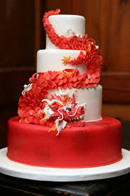 beautiful white and red wedding cakes. Unique And Lucky Dragon Wedding Cake For Beautiful White And Red Cakes D