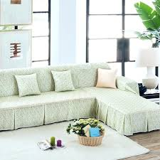 lovely couch covers for l shaped couch and past green fl sectional sofa cover for l