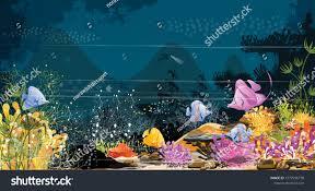 Underwater Habitat Design Marine Life Landscape Ocean Underwater World Nature