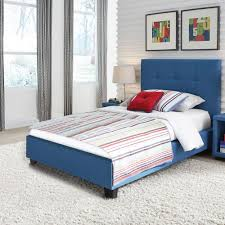 blue tufted headboard. Exellent Blue Fashion Bed Group Henley Kids Complete Upholstered With Button Tufted  Headboard Denim Blue Finish And Headboard U