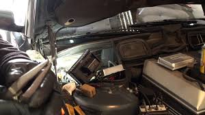 bmw series wiper repairs wiper relay location and wire fix