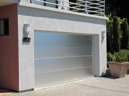 aluminum garage doorCustom Brushed Aluminum Garage Door in Marin County  Modern