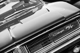 1969 dodge charger logo. Beautiful Charger Bw Photograph  1969 Dodge Charger Rt Emblem By Jill Reger With Logo D