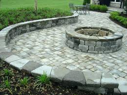 paver patio ideas with fire pit how to build a fire pit patio with on existing paver patio ideas with fire pit