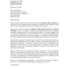 Cool Monash University Sample Cv Images Entry Level Resume