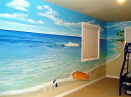 Ocean Decor Bedroom Beach Themed Bedroom Decor Home Interior Design Ideas