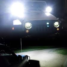 Truck Work Lights 1pc 2pc 4inch 60w Led Work Light Lamp Car 4x4 Atv Led Working Lights Truck 12v Driving Fog Spotlights Tractor Offroad Lights