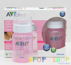 Avent Decorated Bottles New PHILIPS AVENT Special Edition 100 Pack 100ml PINK Bottles BPA 28