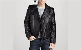 classic biker jacket rw 08 photo