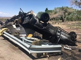 Update: Camper hauler blamed in fiery U.S. 160 crash