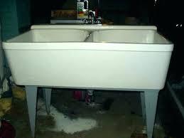 fiberglass laundry sink fiberglass utility sinks accessories plumbing the home depot for double sink designs 4 fiberglass laundry sink