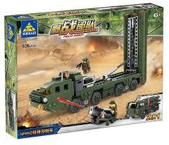 <b>Конструктор Kazi</b> Полевая армия 84037 <b>Ракетные войска</b> ...