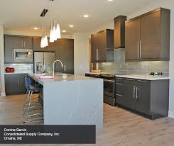 Contemporary kitchen cabinet Wood Mode Corrinagarvin2 Thesynergistsorg Contemporary Maple Kitchen In Thunder Finish Kitchen Craft