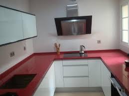 Latest Cocina Blanca Silestone Gris Decorar Tu Casa Es Cocina Blanca  Encimera Roja With Cocinas Grises Y Rojas.
