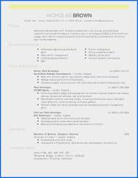 Computer Science Resume Template Beautiful United Kingdom Curriculum