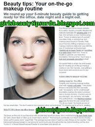 chile s beauty tips in english