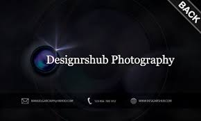 Free Business Card Psd Template For Photographers