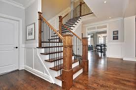 Stair Railing Wooden Ideas