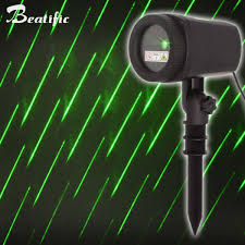 2018 motion meteor shower laser lights outdoor garden lawn xmas decorative new year deco light malaysia